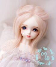 1 4 7-8 Bjd Msd Wig Doc Sd Dz Dod Luts Mdd Dollfie Doll Boy pink Head Hair M76