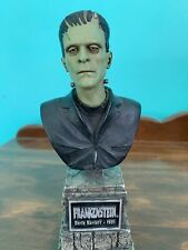 """FRANKENSTEIN BUST SIDESHOW LEGACY COLLECTION Universal Monsters 2004 VINTAGE 7"""""""