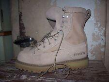 BATES Gore-Tex Vibram Sole USMC Military Boots Desert Tan Suede 3.5W-36.5 NEW