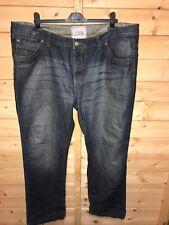 Mens Burton London Comfort Regular Fit Jeans W42 L L34 Button Fly
