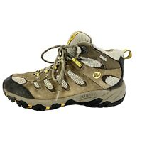 Merrell Mid Select Dry Waterproof Hiking Boot Men's Boulder/Old Gold Size 8.5