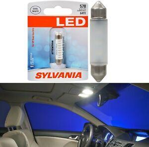 Sylvania Premium LED Light 578 White 6000K One Bulb Interior Map Upgrade Fit