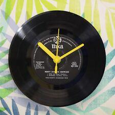"The Monty Sunshine Trio 'Wild Cat Blues' Retro Chic 7"" Vinyl Record Wall Clock"