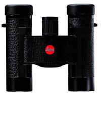 Leica Fernglas Ultravid 8x20 Blackline mit brauner Ledertasche kompakt compakt