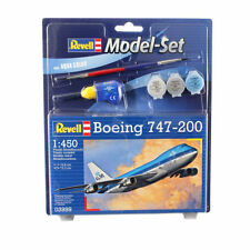 Boeing 747-200 KLM scale 1:200 Kit Revell incl. glue and paint NEW !!