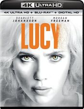LUCY****4K ULTRA HD BLU-RAY****REGION FREE****NEW & SEALED