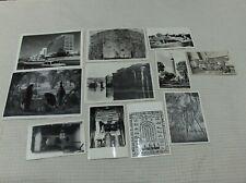 VINTAGE: lot de photos et cartes postales années 50 EGYPTE