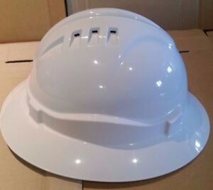 Wide Full Brim Hard Hat Tested & Certified to Aus Stds   Pro Choice HHV6FB-W