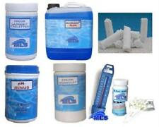 7-teiliges Pool Spar Set zum Hammerpreis Chlor, pH, Algenex, Tester, Thermometer