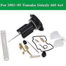 Carb Rebuild Kit Repair for Grizzly 660 4x4 YFM660FW 2002 2003 2004 2005
