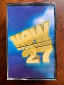 Now That's What I Call Music Vol.27 (1994) Chart Pop Compilation Cassette Tape