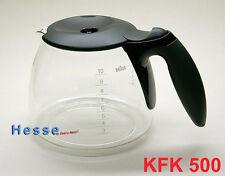 Braun Ersatzkanne KFK500 Café House 10-Tassen, schwarz