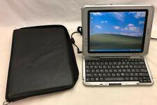 HP Compaq TC1100 Tablet Windows XP OS w/ case + power supply - WORKS - READ!!!