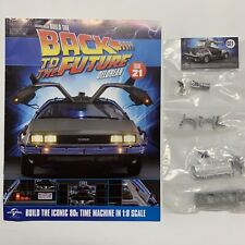 DeLorean Issue 8 Model Eaglemoss Build Your Own Back to The Future BTTF 08