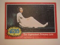 Star Wars Series 2 (Red) Topps 1977 Trading Card # 89 The Imprisoned Princess