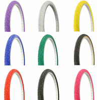 """NEW! ! DURO 26 x 1.95"""" City Fixie Track SLICK Tread Bike Bicycle Tire ALL COLORS"""