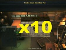 Fallout 76 - Crafted Ornate Mole Miner Pail x10  - PS4