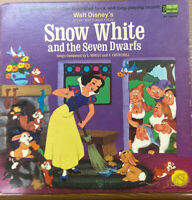 Snow White And The Seven Dwarfs Vinyl LP Disney ST 3906 Purple Label