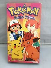 Pokemon Fashion Victims VHS Movie Tested And Works Great