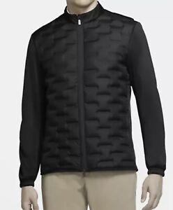 Nike Golf Aeroloft Repel Hyperadapt Jacket Size M $250  CK5900-010 Black