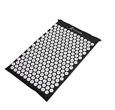 ProsourceFit Black Cushioned Acupressure Mat Pad