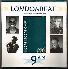 LONDONBEAT - 9AM. 4 Track Special Cassette Edition.  UK RCA