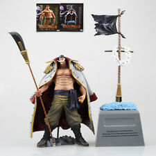 "Anime One Piece DXF Edward Newgate Whitebeard + Grave 8"" PVC Figure Toy Gift NIB"