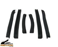 1995-2000 Cavalier & Sunfire Convertible Top Weatherstrip Side Rails - New!