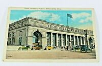 Vintage Great Northern Station Minneapolis 1930 Rare Posted Postcard Collectible