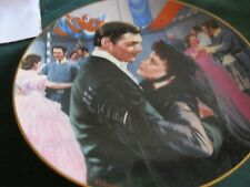 1992 Gone With The Wind ,The Passions Of Scarlet Plate,The Waltz