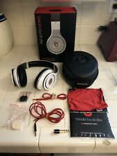 Beats by Dr. Dre Studio Wired Monster Over the Ear Headphones Black & White