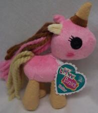 "Lalaloopsy Ponies WAFFLES UNICORN PINK PONY 7"" Plush STUFFED DOLL Toy NEW"