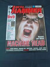 Metal Hammer 4/2007 MACHINE HEAD KILLSWITCH ENGAGE DIMMU BORGIR BLACK SABBATH HE
