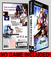 Ar Tonelico 2 Melody of MetaFalica - PS2 Reproduction Art DVD Case No Game