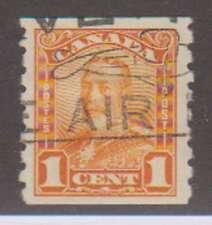 C1408: Canada #160 Used, Vf-Xf, Sound; Cv $22