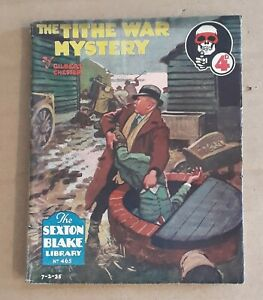 Sexton Blake Library 2nd Series Nr 465 Detective weekly Union Jack Comic Pulp