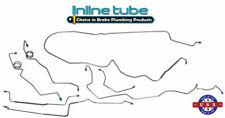 84-87 G-body Buick Regal Base Car Prebent CNC Brake Line Set Kit Tubes OEM Steel