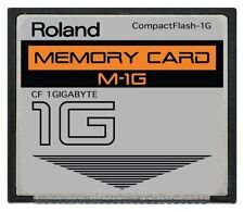 1GB Roland® CF Card for SP 404 SP404 Fantom Drive Upgrade 1 Gig GB Compactflash