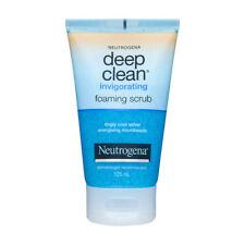 NEUTROGENA DEEP CLEAN FOAMING SCRUB INVIGORATING FACIAL FACE GEL CLEAN 125ml