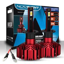 NOVSIGHT 60W 10000LM H1 Car LED Headlight Bulbs Kit Lamp 6000K High Low 9V-32V