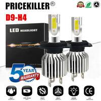 2x H4 9003 LED Headlight KIT Fog Bulb Light Hi/Lo Beam 6000K VS Xenon HID White