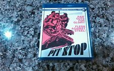 PIT STOP BLUE-RAY CODE RED 2015 NEW! SEALED! SID HAIG! DRIVE-IN CLASSIC