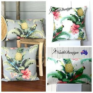 Tommy Bahama Outdoor / Indoor Bird Pineapple Tropical cushion/pillow cover