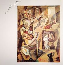 ANDRE MASSON HAND SIGNED SIGNATURE * THE FIG * PRINT W/ C.O.A.