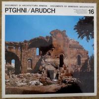 #16 PTGHNI ARUDCH Documenti di architettura Armena; ARMENIAN Church Architecture
