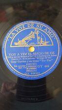 JAZZ 78 rpm RECORD VsA GRAY GORDON & SU RITMO TIC TOC Film EL MAGO DE OZ Voy a..