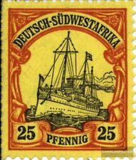 Deutsch-Südwestafrika 15 mit Falz 1900 Schiff Kaiseryacht Hohenzollern