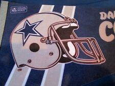 "1980 ERA NFL DALLAS COWBOYS FELT  PENNANT 11 3/4"" x 29 3/4"""