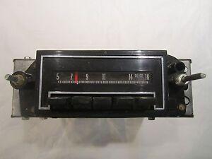 Chevrolet Pontiac Oldsmobile Buick AM Mono Radio NOS 7933641