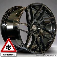 Audi 21 Zoll A802 concave Alufelgen 9x21 5x112 ET35 schwarz glänzend winterfest